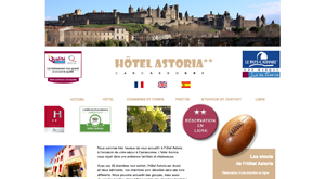 hotel astoria carcassonne
